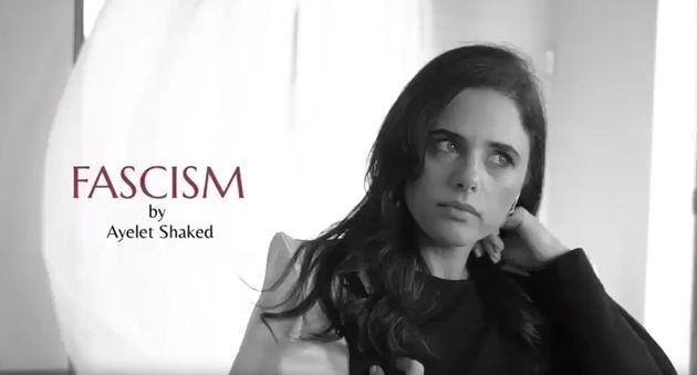 AyeletShaked, en su polémico vídeo
