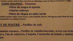 Un mesón de Cartagena incluye un polémico chiste sobre violaciones en su menú del