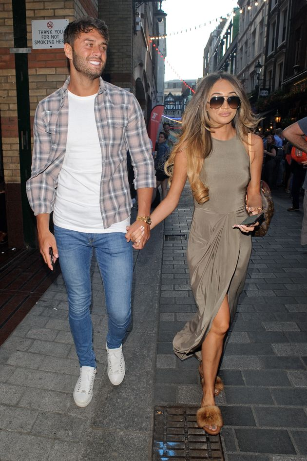 Mike Thalassitis and Megan