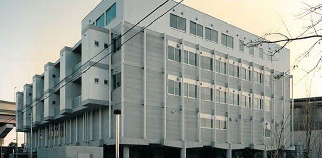 事件現場となった足立区の柳原病院
