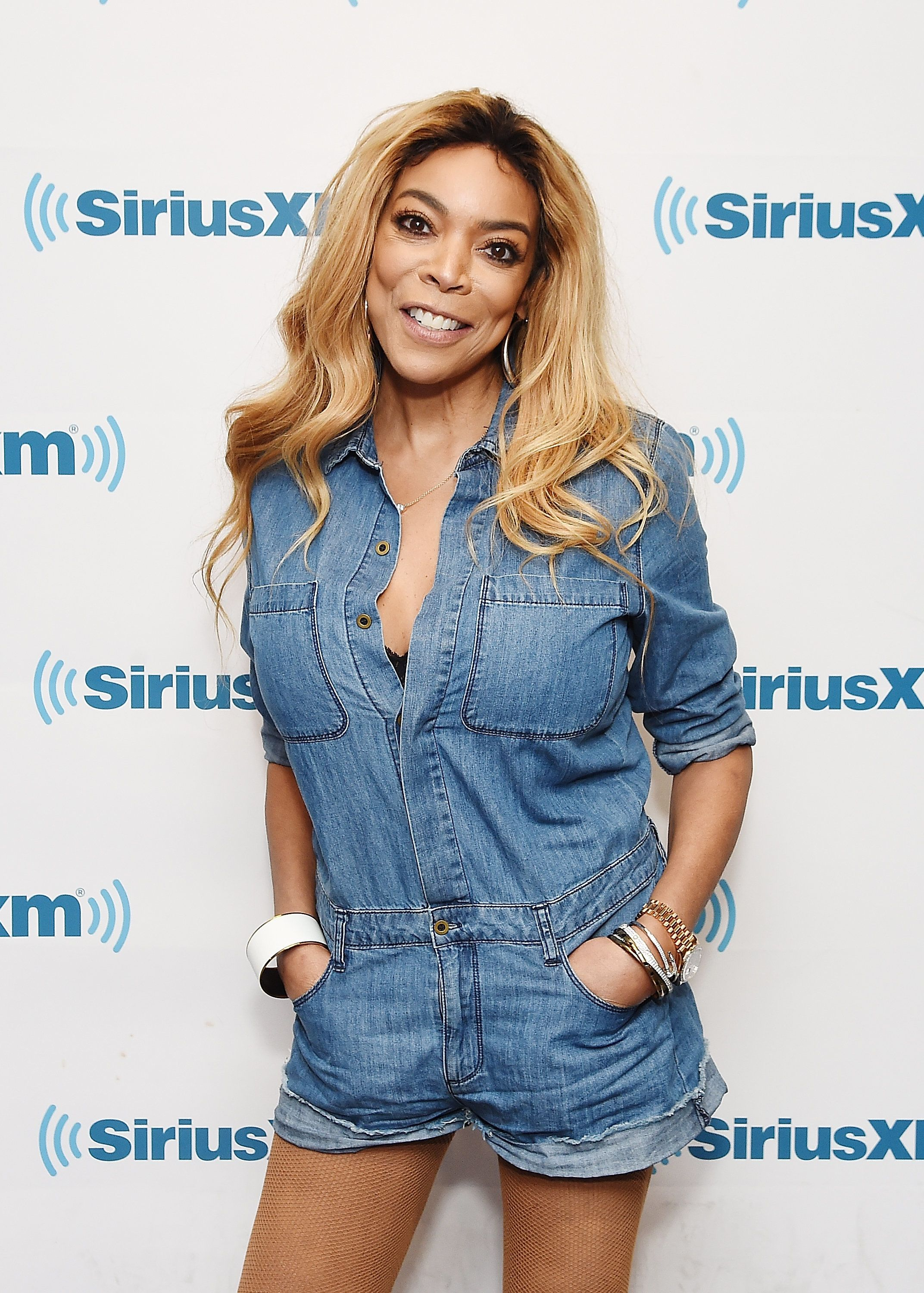 NEW YORK, NY - JULY 13:  American televison host Wendy Williams visits SiriusXM Studios on July 13, 2017 in New York City.  (Photo by Nicholas Hunt/Getty Images)
