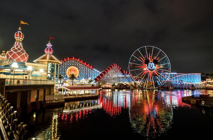 Disneyland rebranded Paradise Pier as Pixar Pier in 2018.
