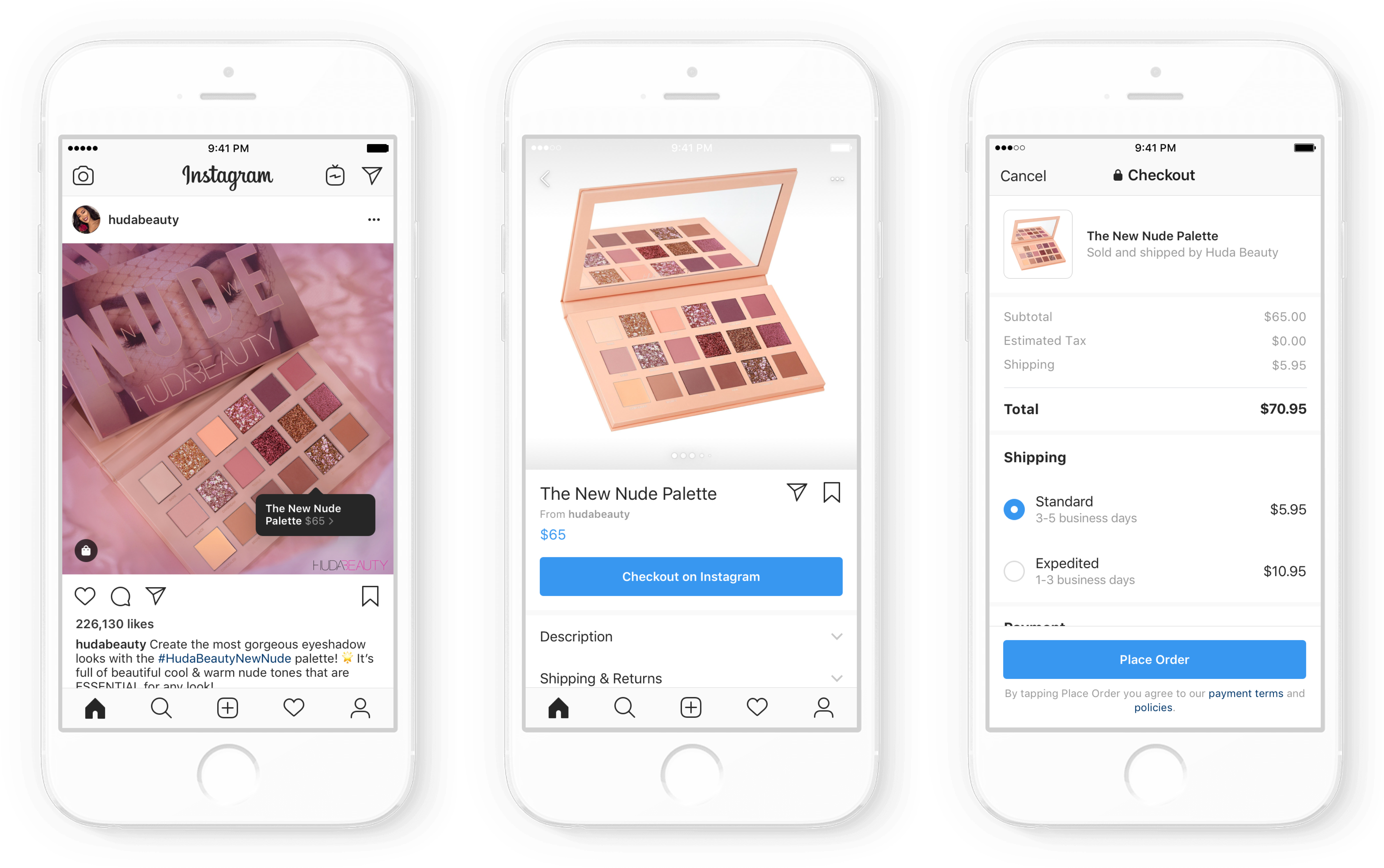 Instagram announces new shopping checkout experience