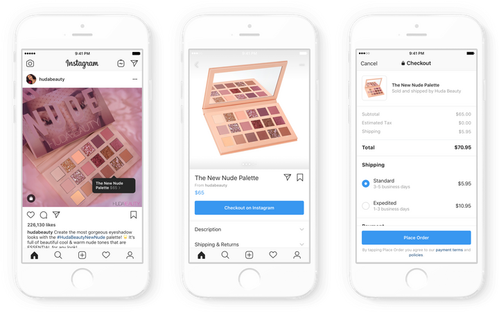 A look at how Checkout, Instagram's new shopping interface, works.