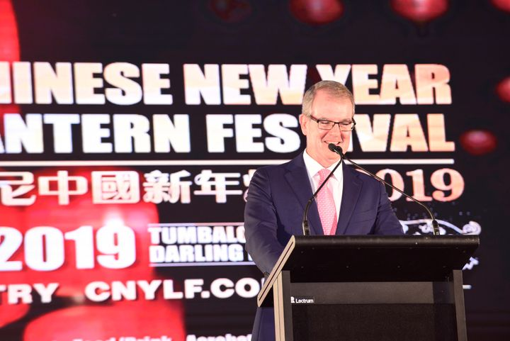 New South Wales Labor Party leader Michael Daley in Sydney in February. A video from last year surfaced in which he said