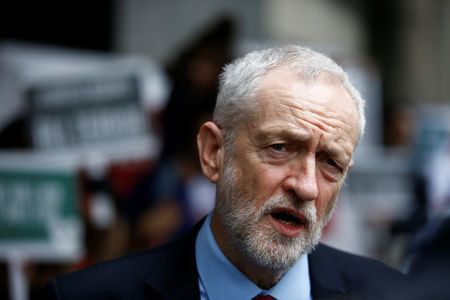 Corbyn is holding cross-party talks to find a way through the Brexit