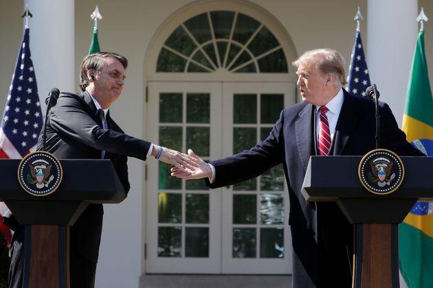 """Bolsonaro a Trump:""""Sempre fui um grande admirador dos EUA e essa admiração..."""
