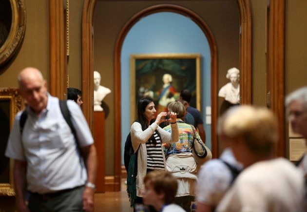 "Britain's National Portrait Gallery in London has ""jointly agreed not to proceed"" with a..."