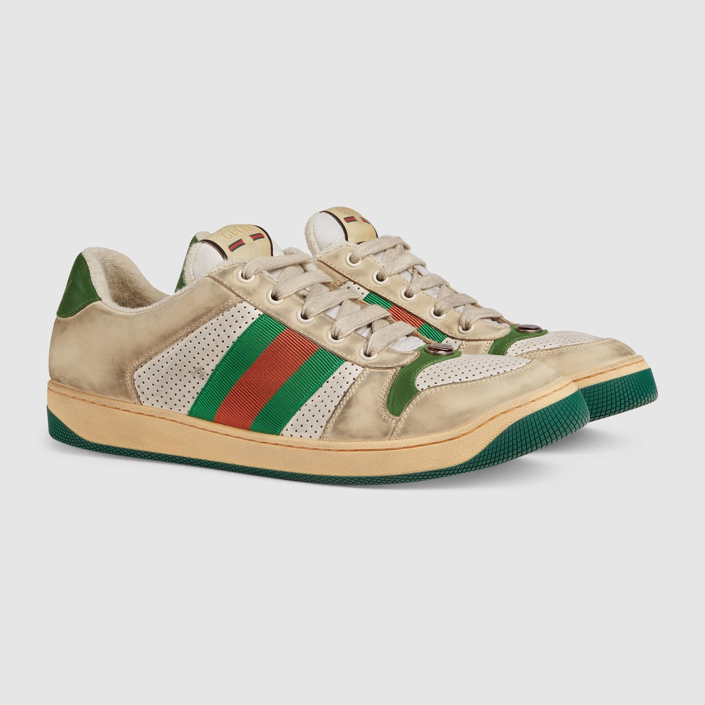 Gucci Wants You Pay Almost $900 For Filthy-Looking Sneakers