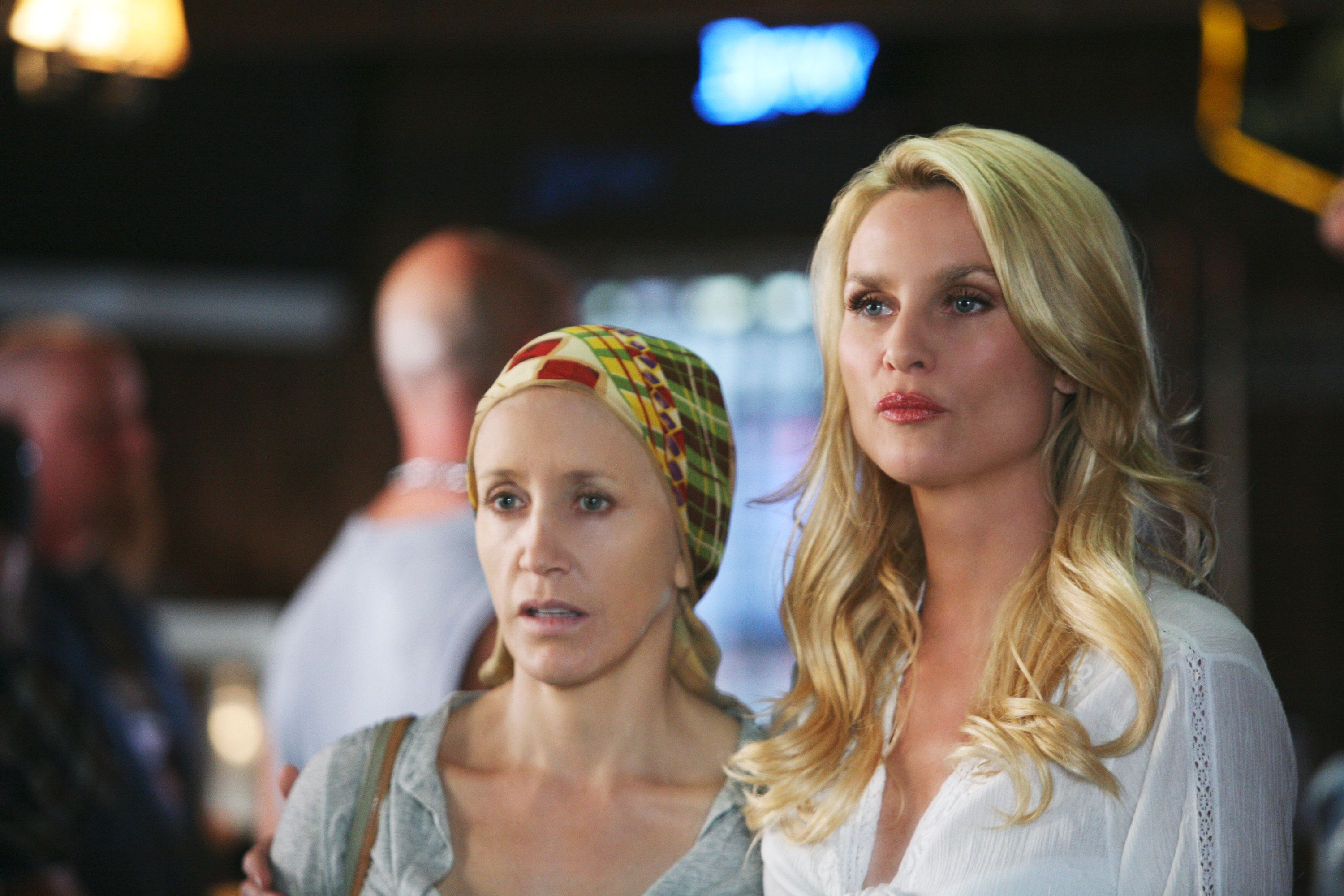 """Felicity Huffman and Nicolette Sheridan on ABC's """"Desperate Housewives."""""""