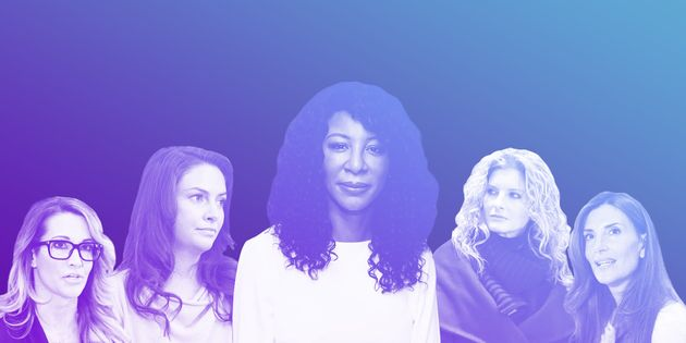 Some of the more than 20 women who have accused President Donald Trump of sexual misconduct and harassment;...