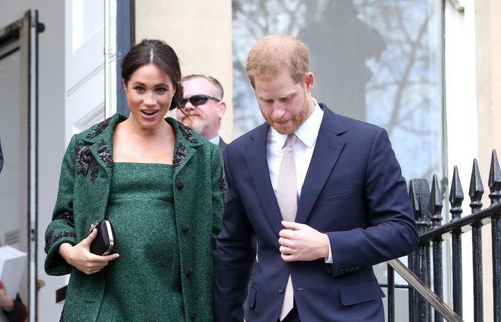 """Quando a gravidez de Meghan Markle foi anunciada, palácio de Kensington informou que o bebê deveria nascer durante a """"primavera de 2019""""."""