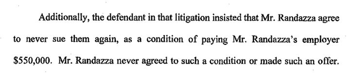 Randazza's reply in a Massachusetts disciplinary proceeding.