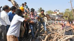 Two Dead, Several Feared Trapped As Under-Construction Building Collapses In