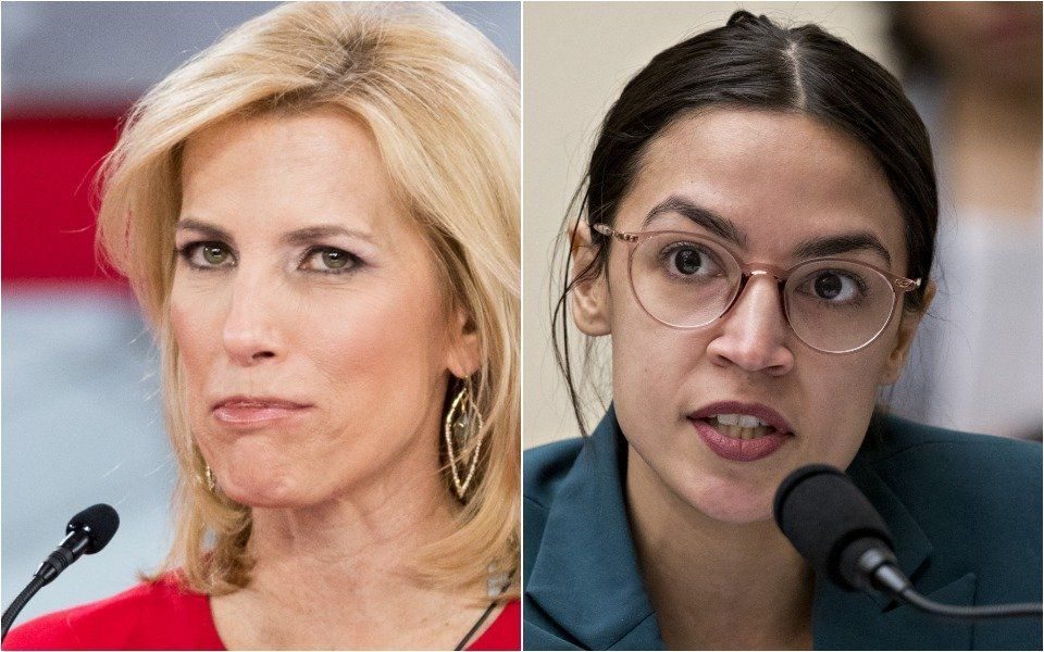 Ingraham and AOC