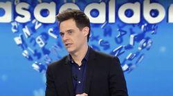 Christian Gálvez, tras vivir un tenso momento en 'Pasapalabra' (Telecinco):