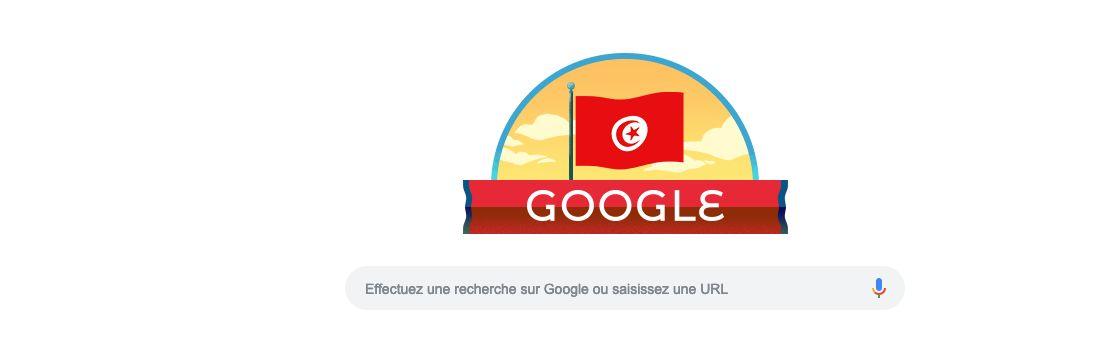Google rend hommage à l'indépendance de la