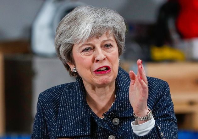 Theresa May, en una imagen de
