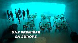 Le plus grand restaurant sous-marin du monde ouvre ses