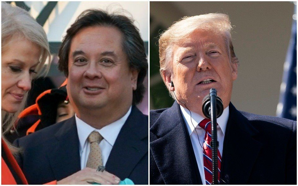 Donald Trump Freaks Out Again Over George Conway Husband From Hell