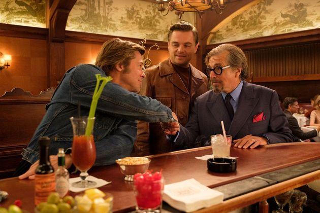 Nono filme de Tarantino traz Leonardo DiCaprio, Brad Pitt, Al Pacino e grande