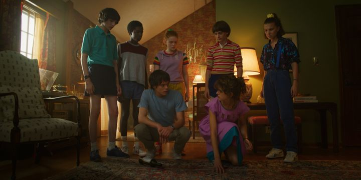 "The ""Stranger Things"" gang in season 3."