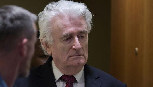 El Tribunal de La Haya sentencia a cadena perpetua a Radovan Karadzic por el genocidio en