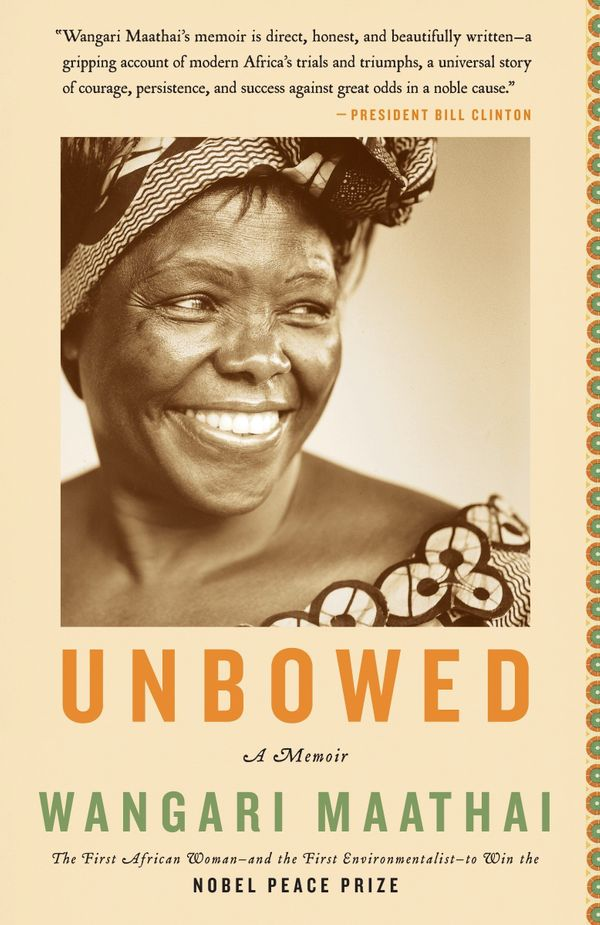 GoodreadsDescription: Wangari Maathai, winner of the 2004 Nobel Peace Prize, takes readers from the rural Kenyan villag