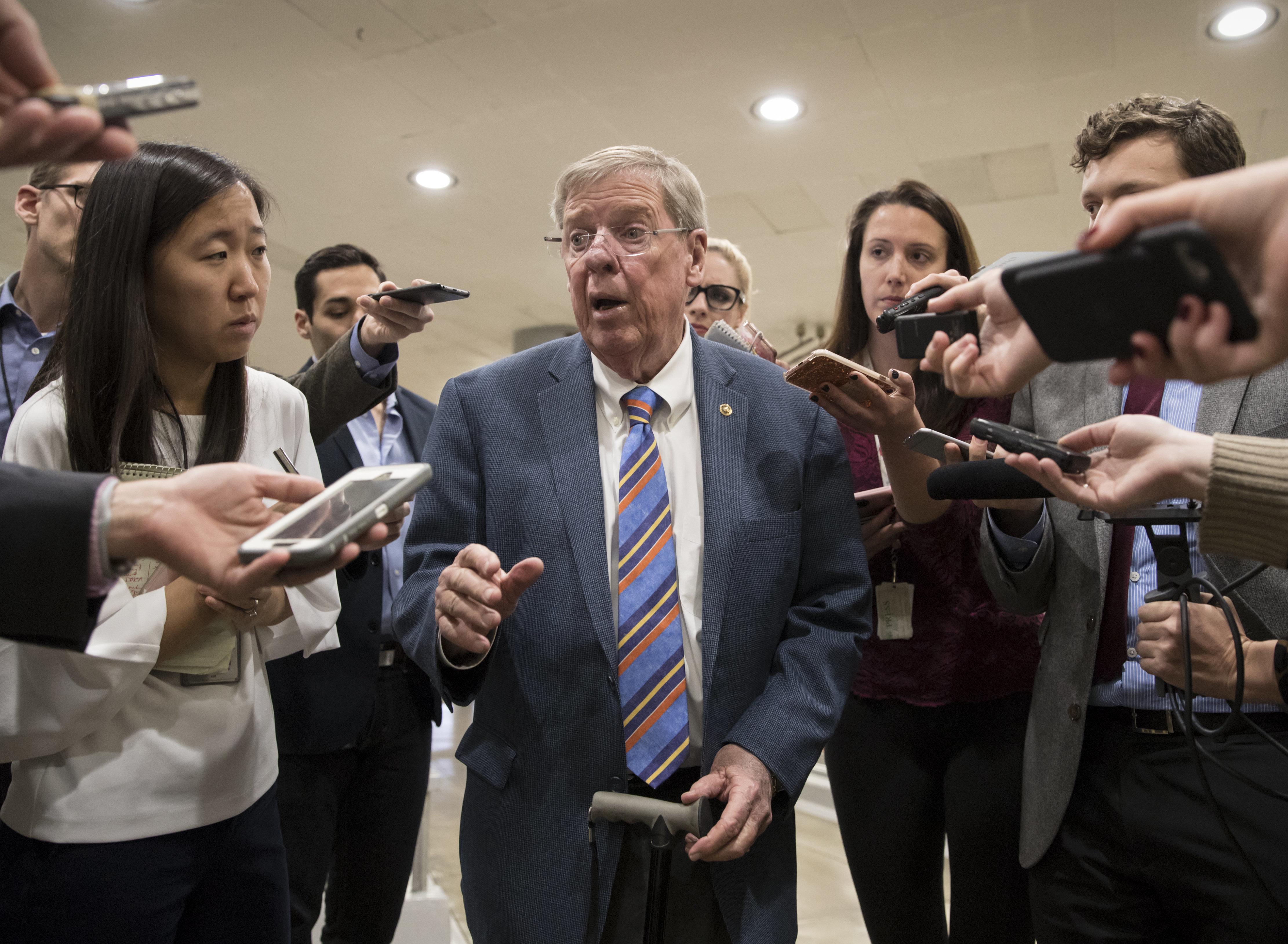 GOP Senator Johnny Isakson Slams Trump's 'Deplorable' Attacks On