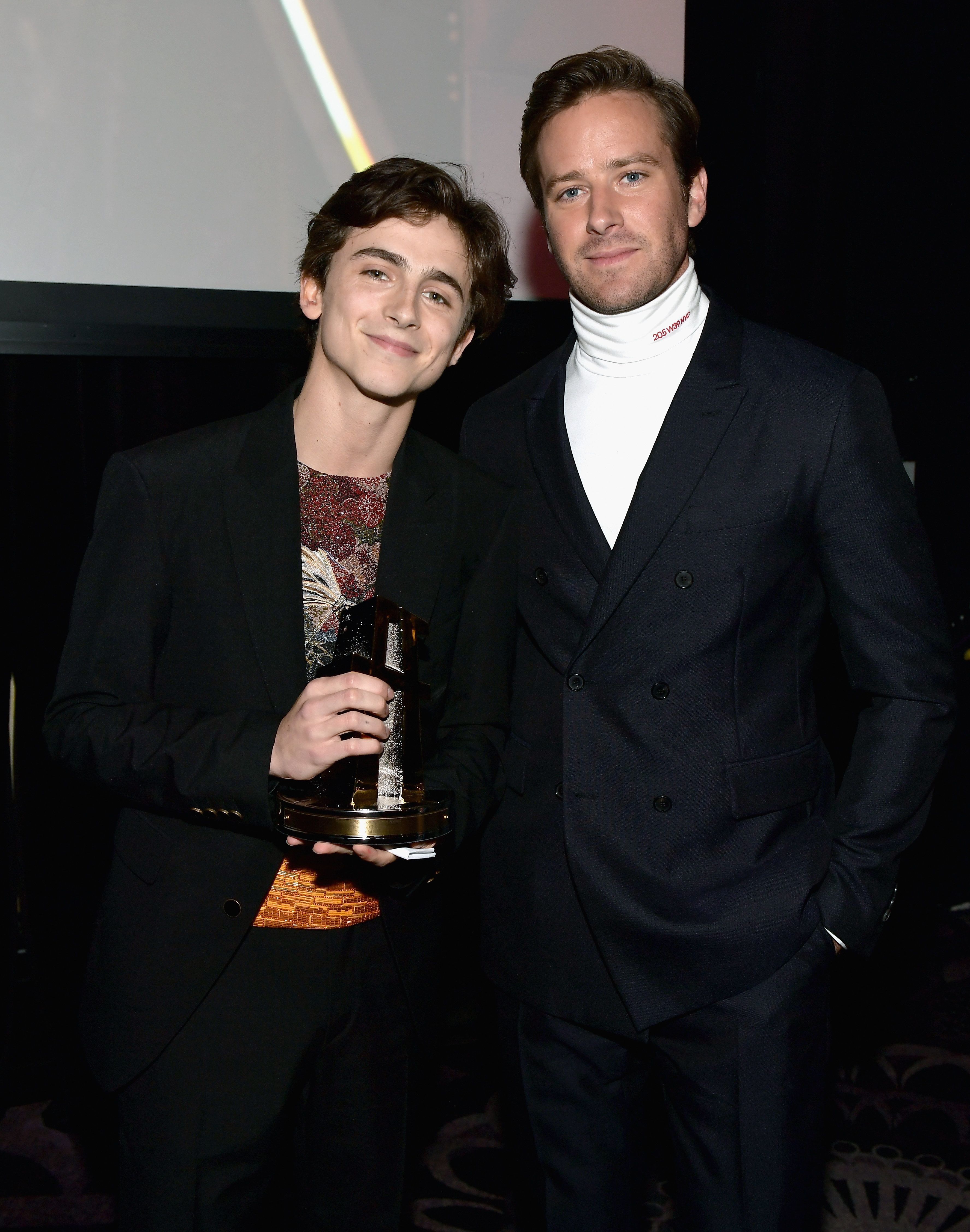 Hammer left the door open to a sequel if co-starTimothée Chalamet signed on and with the...