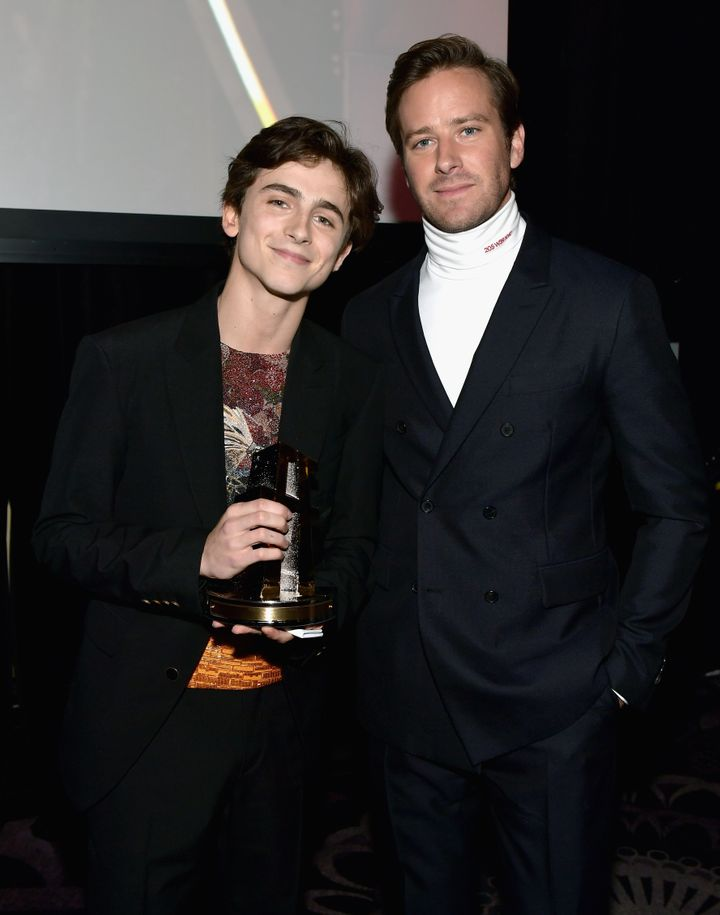Hammer left the door open to a sequel if co-starTimothée Chalamet signed on and with the right script.