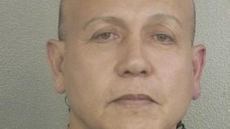 Cesar Altieri Sayoc is pictured in Ft. Lauderdale, Florida, U.S. in this January 27, 2015 handout booking photo obtained by Reuters October 26, 2018.  Broward County Sheriff's Office/Handout via REUTERS  ATTENTION EDITORS - THIS IMAGE WAS PROVIDED BY A THIRD PARTY.