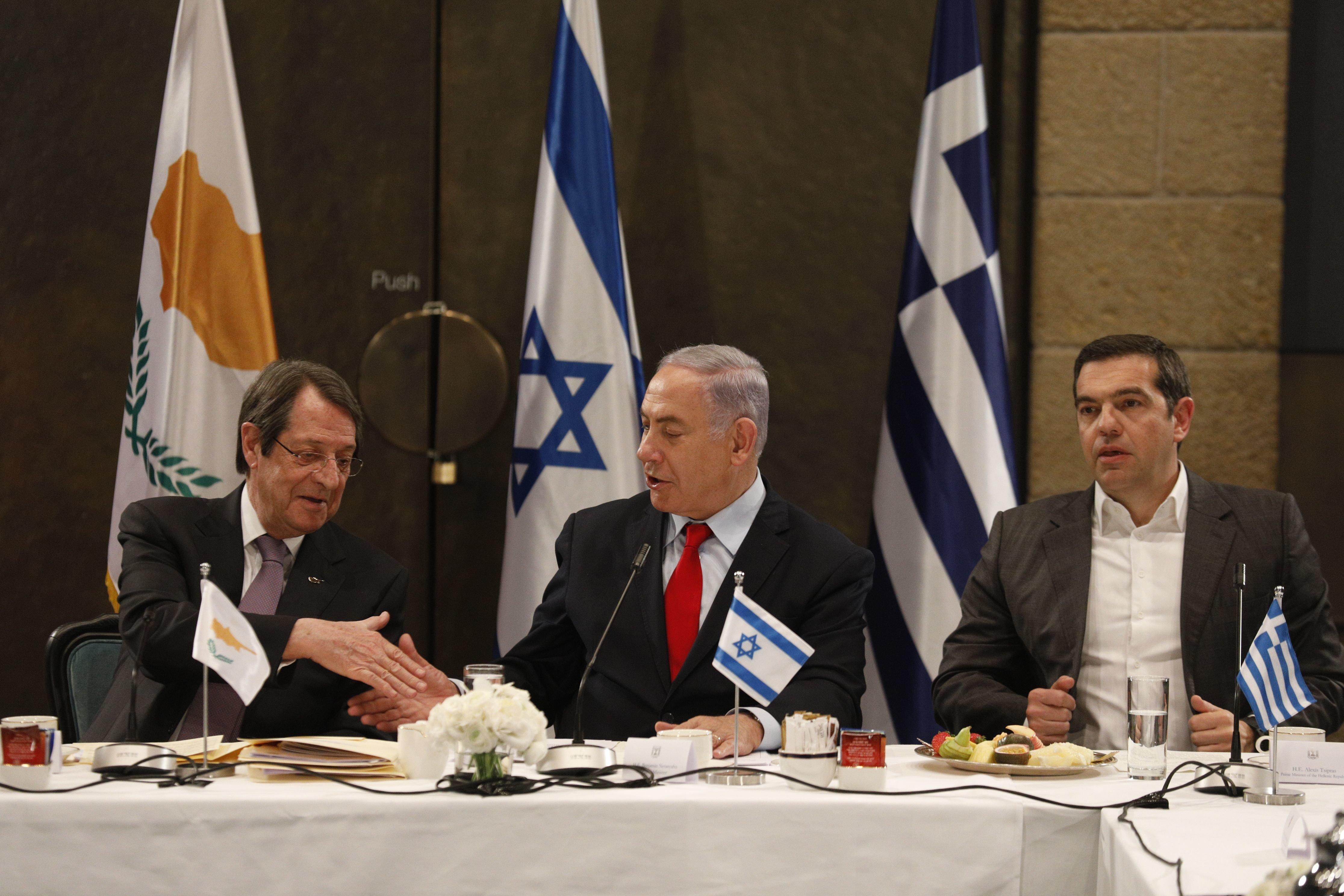 Τριμερής Ελλάδας - Κύπρου - Ισραήλ: Στρατηγική συνεργασία σε ενέργεια και