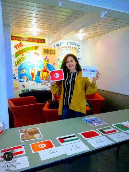 Un stand de mets tunisiens aux US, concoctés par Amira