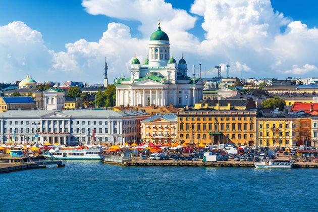 Helsinki, capital da Finlândia, país quelidera pelo segundo ano consecutivo o ranking...