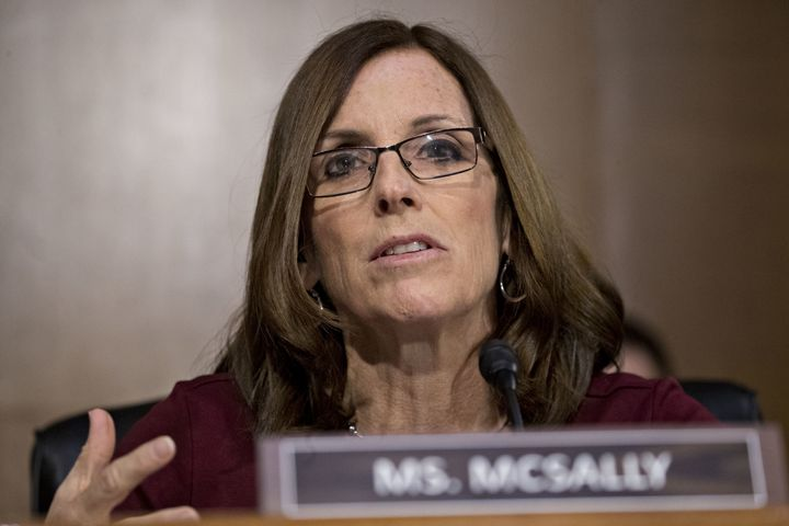 Republican Arizona Sen. Martha McSally, who holds John McCain's former Senate seat, is facing election in 2020 to mainta