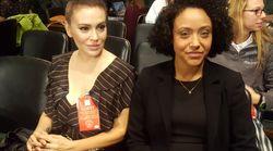 Alyssa Milano présente à l'audition de l'accusatrice de Brett Kavanaugh pour