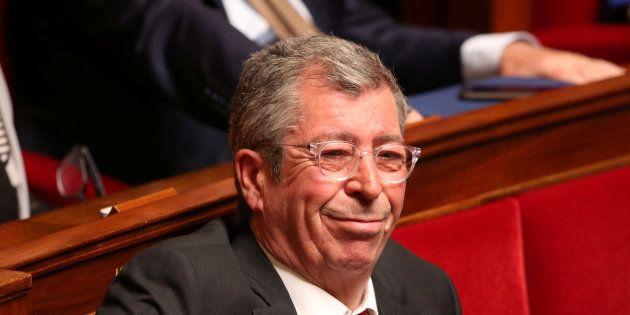 Patrick Balkany à l'Assemblée nationale en avril