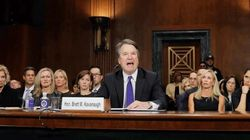 Cette photo de Kavanaugh, devenue virale pendant son audition, ne montre pas ce que beaucoup