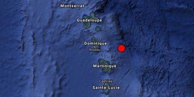Antilles: après la tempête Kirk, un séisme frappe la Martinique et la Guadeloupe où Macron est en