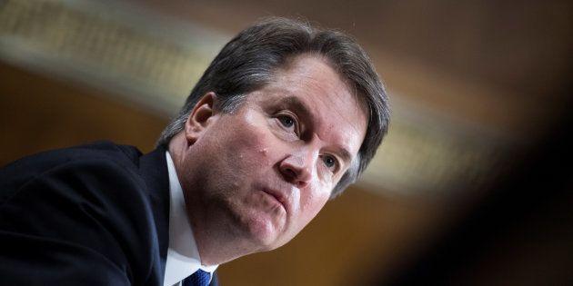 Malgré le témoignage de l'accusatrice de Brett Kavanaugh (ici le 27 septembre au Sénat), les sénateurs...