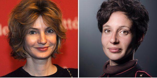 Les quatre finalistes du Prix Goncourt des Lycéens 2017: Monica Sabolo, Alice Zeniter, Véronique Olmi...