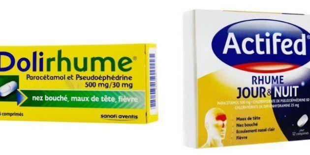 Les médicaments sans ordonnance contre le rhume les plus dangereux, selon 60 millions de consommateurs