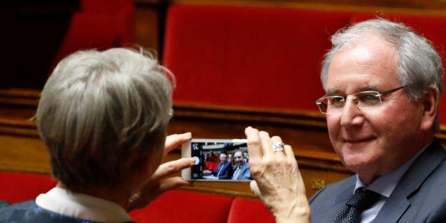 Jean-Michel Clément à l'Assemblée nationale en février