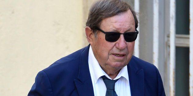 Guy Roux, aux obsèques de Louis Nicollin, le 4 juillet