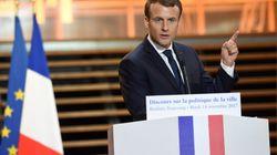 A la recherche d'une jambe gauche, Macron détaille sa politique pour les