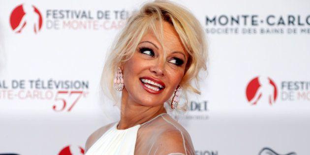 Pamela Anderson (ici en juin 2017 à Monaco)