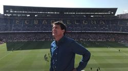 Valls s'affiche en supporteur au Camp Nou, mais ça n'a pas porté chance au