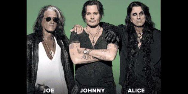 Johnny Depp sera sur scène au prochain