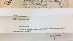 Il y a comme un problème avec la lettre d'exclusion envoyée à Franck Riester par Les